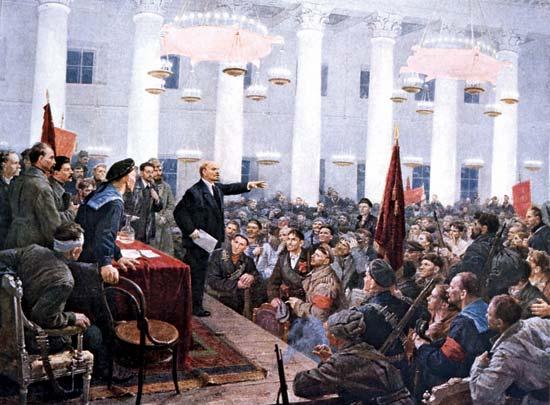 ΙΙ Πανρωσικό Συνέδριο των Σοβιέτ: Προς τους εργάτες, τους στρατιώτες και τους αγρότες!