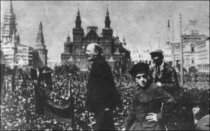 Ο Λένιν επιστρέφει στην Πετρούπολη