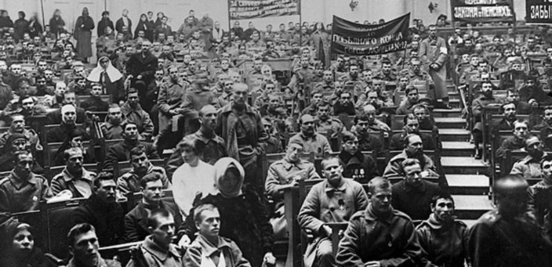 Συνάντηση του Σοβιέτ της Πετρούπολης