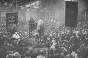 Συνέλευση στο εργοστάσιο Πουτίλοφ